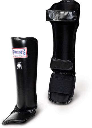 Twins Pro Leather ShinInstep Guards